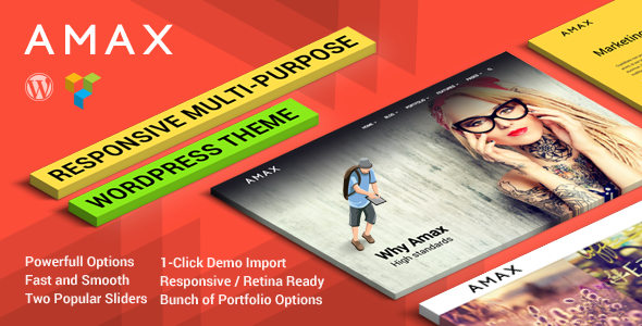 Download Skrollex - Creative One Page Parallax Free