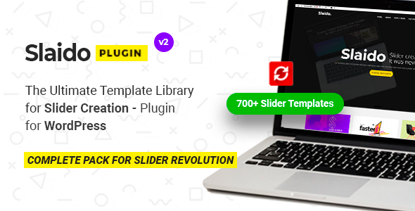 Download Slaido Template Pack for Slider Revolution WordPress Plugin - Free Wordpress Plugin