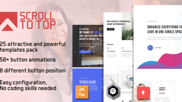 Download Smart Scroll to Top Faster and Easier scroll to top plugin for Wordpress - Free Wordpress Plugin