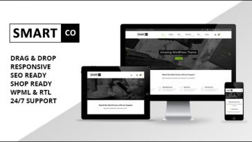 Download SmartCo Business v.3.4. - Business Theme + RTL Free