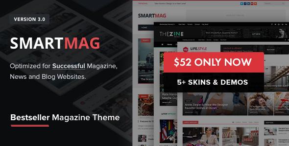 Download SmartMag v.3.2.0 - Responsive & Retina WordPress Magazine Free
