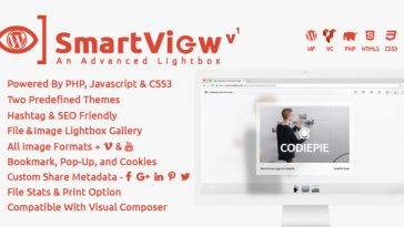 Download SmartView WordPress  - Free Wordpress Plugin