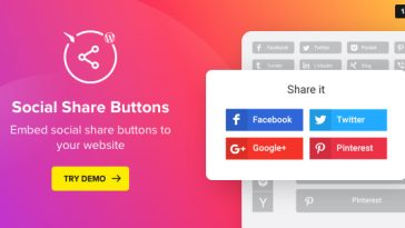 Download Social Media Share Buttons for WordPress  - Free Wordpress Plugin