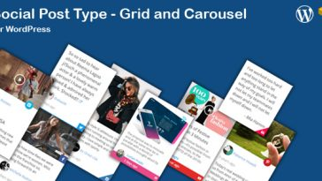 Download Social News Post Type Grid and Carousel for WordPress - Free Wordpress Plugin