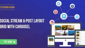 Download Social Stream & Post Grid Layout With Carousel for SiteOrigin Page Builder  - Free Wordpress Plugin