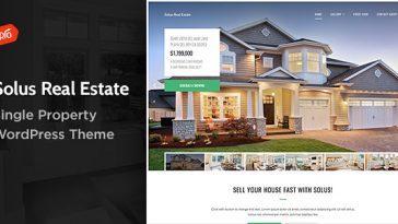 Download Solus v.4.4 - Single Property Theme Free