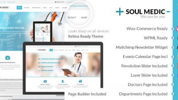 Download SoulMedic Health - Medical & Health Care Theme Free