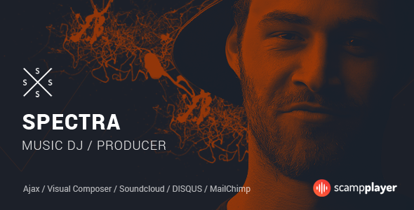 Download Spectra v.5.5.4 - Continuous Music Playback WordPress Theme Free