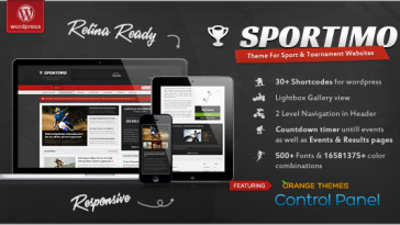 Download Sportimo - Sport & Events Magazine Theme Free