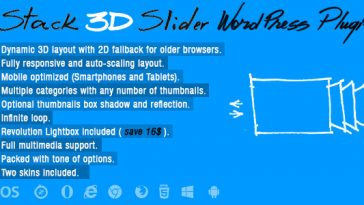 Download Stack 3D Slider Wordpress Plugin  - Free Wordpress Plugin