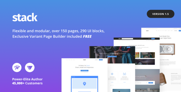 Download Stack v.1.5.6 - Multi-Purpose WordPress Theme with Variant Page Builder & Visual Composer Free