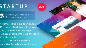 Download Startuply - Multi-Purpose Startup Theme Free