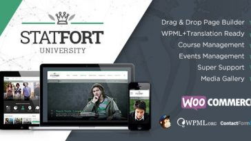 Download Statfort - Educational Wordpress Theme Free