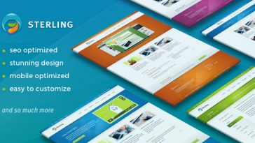 Download Sterling - Responsive Wordpress Theme Free