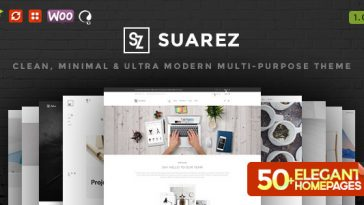 Download Suarez - Clean, Minimal & Modern Multi-Purpose WordPress Theme Free