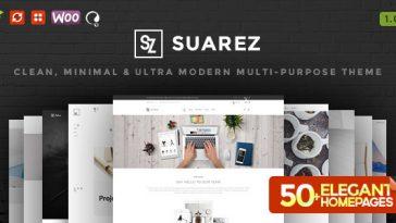 Download Suarez - Clean, Minimal & Modern Multi-Purpose WordPress Theme Free