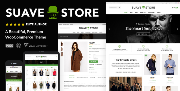 Download Suave v.6.7.6 - Multi-Purpose WooCommerce Theme Free