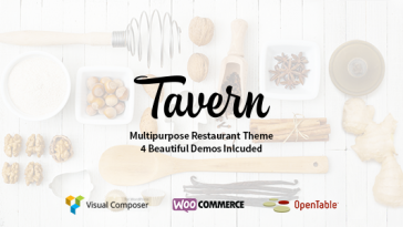 Download Tavern v.5.6 - Professional Restaurant Theme Free