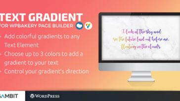 Download Text Gradient for WPBakery Page Builder (formerly Visual Composer)  - Free Wordpress Plugin