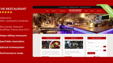 Download The Restaurant - WordPress Theme Free