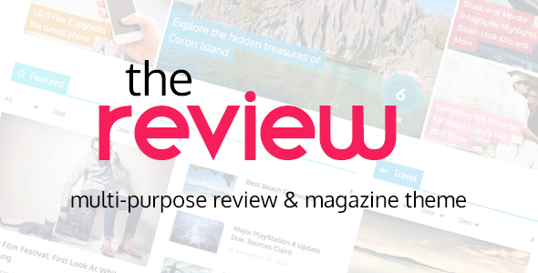 Download The Review - Multi-Purpose Review & Magazine Theme Free