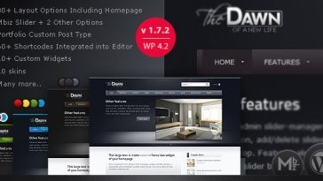 Download theDawn - WordPress Theme Free
