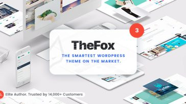 Download TheFox - Responsive Multi-Purpose WordPress Theme Free