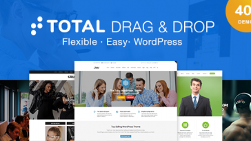 Download Total - Responsive Multi-Purpose WordPress Theme Free