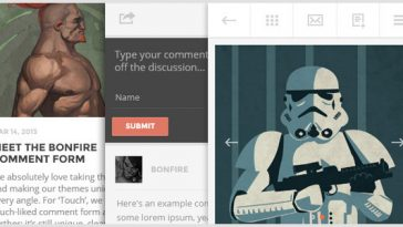 Download TOUCH v.1.6 - A Lighter-than-air WordPress Mobile Theme Free