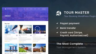 Download Tour Master Tour Booking, Travel WordPress Plugin - Free Wordpress Plugin