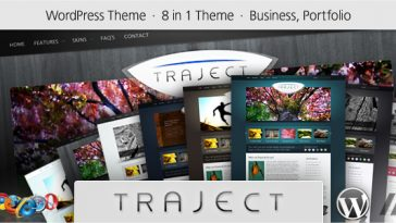Download Traject - WordPress Portfolio and Business Theme Free