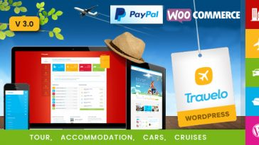 Download Travelo - Travel/Tour/Car Rental/Cruise Booking WordPress Theme Free