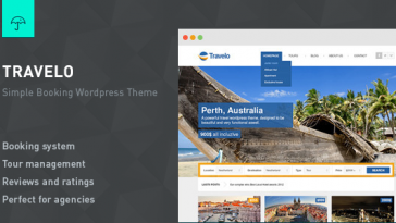 Download Travelo v.4.8 - Responsive Booking Wordpress Theme Free
