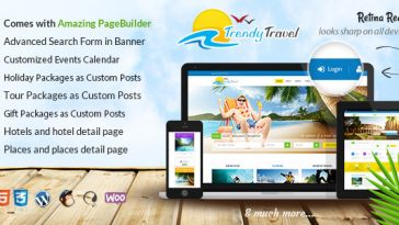 Download Trendy Travel v.4.9.8 - Tour, Travel & Travel Agency Theme Free