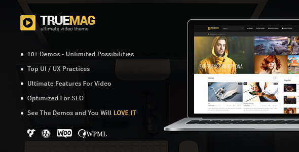 Download True Mag - WordPress Theme for Video and Magazine Free