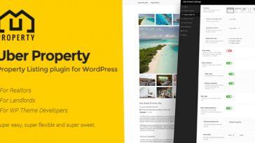 Download Uber Property  - Free Wordpress Plugin