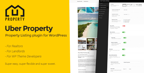 Download Uber Property  - Free Wordpress Plugin