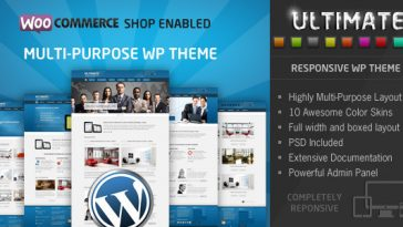 Download Ultimate v.2.6.1 - Responsive WP Theme Free