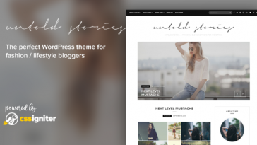 Download Untold Stories - Fashion Blog Theme Free