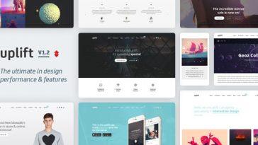 Download Uplift - Responsive Multi-Purpose WordPress Theme Free