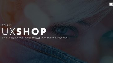 Download UX Shop v.5.5.2 - Responsive WooCommerce theme Free