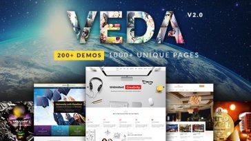 Download VEDA - Multi-Purpose Theme Free