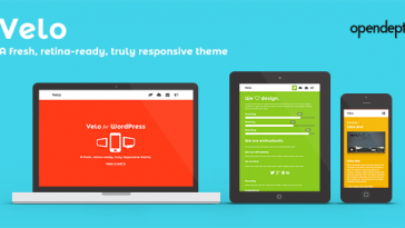 Download Velo - A fresh, Retina-Ready and Responsive Theme Free