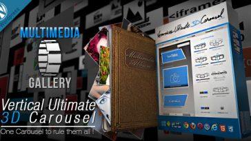 Download Vertical Ultimate 3D Carousel Wordpress Plugin  - Free Wordpress Plugin