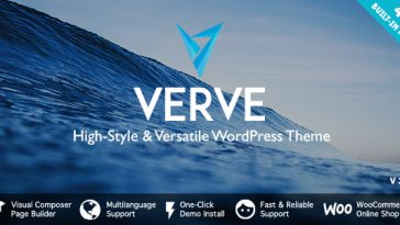 Download Verve v.5.5.1 - High-Style WordPress Theme Free