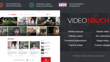 Download VideoTouch v.1.8.3 - Video WordPress Theme Free