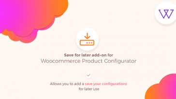Download Visual Product Configurator Save For Later Addon  - Free Wordpress Plugin