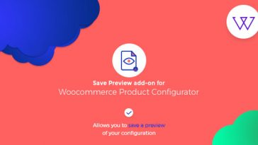 Download Visual Product Configurator Save Preview addon  - Free Wordpress Plugin