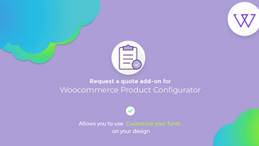 Download Visual Products Configurator Request a quote Addon  - Free Wordpress Plugin