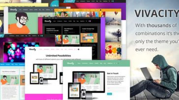 Download Vivacity - Multi-Purpose Responsive Theme Free